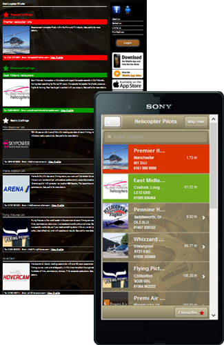 Source Media TV - Web and App profiles